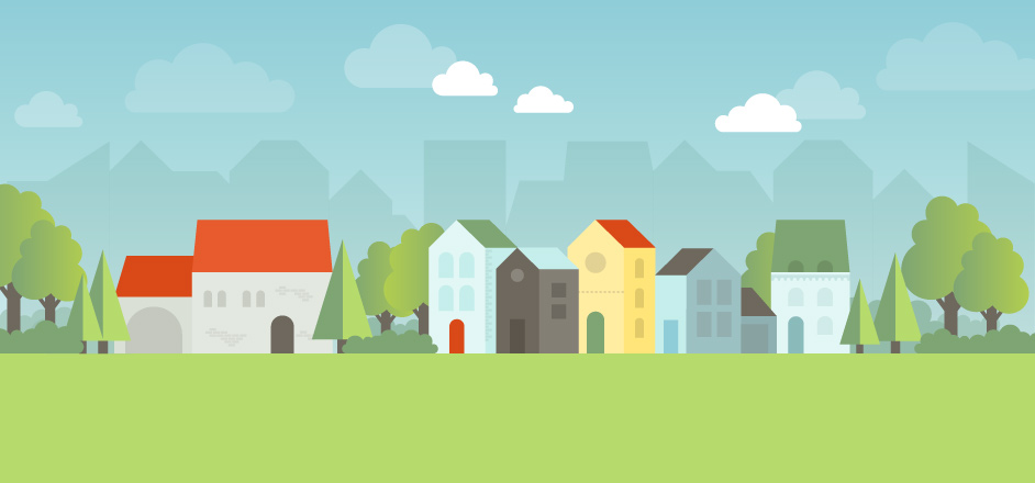 Create a cityscape in Adobe Illustrator
