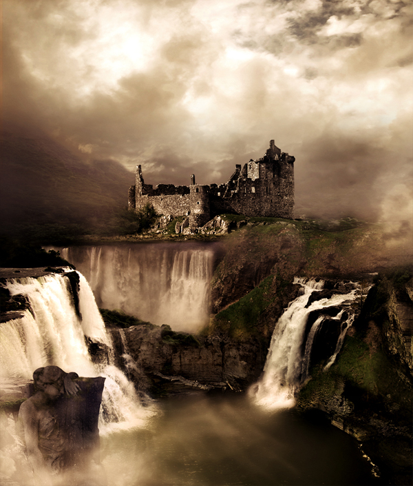How to Create a Fantasy Landscape Photo Manipulation