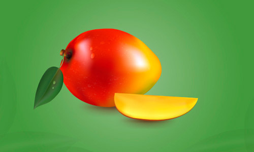 Draw a Realistic Mango With the Mesh Tool