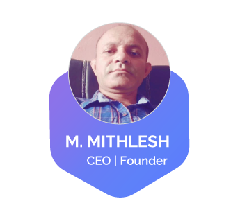 M. Mithlesh  is co-founder of this tutorials website . He is running a full-fledge Design Agency .Fast forward more than a decade and more projects later, and he is still actively involved in the day to day operations and creative direction of everything