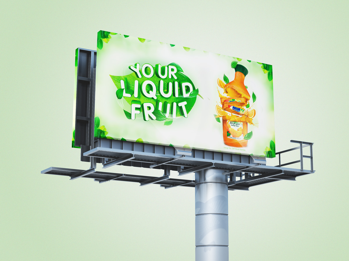 Download free PSD billboard and hoarding mockup design