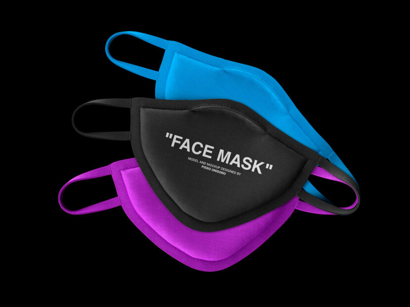 Download Free Face Mask Mockup