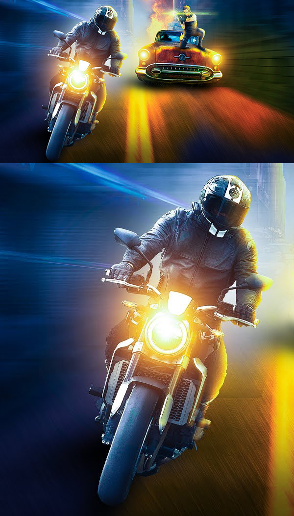 How to Make Action Move Photoshop Manipulation And Poster Work in Photoshop