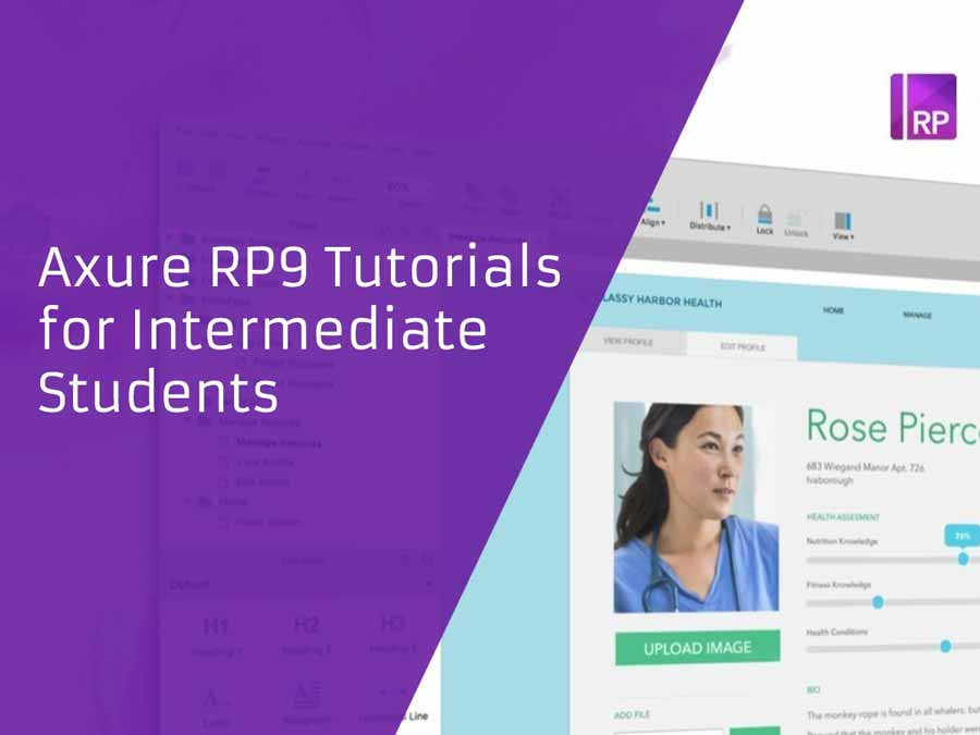 Axure RP9 Tutorials for Intermediate Students