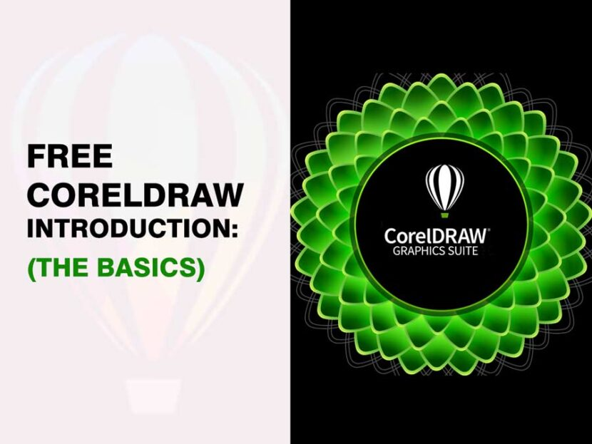 Free Corel Draw Introduction The Basics