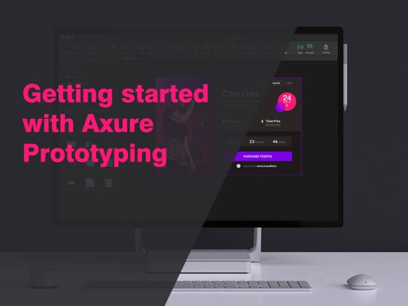 Getting started with Axure Prototyping
