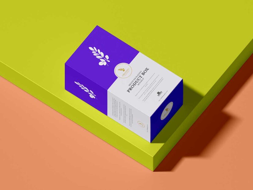 Free Brand Packaging Product Box Mockup
