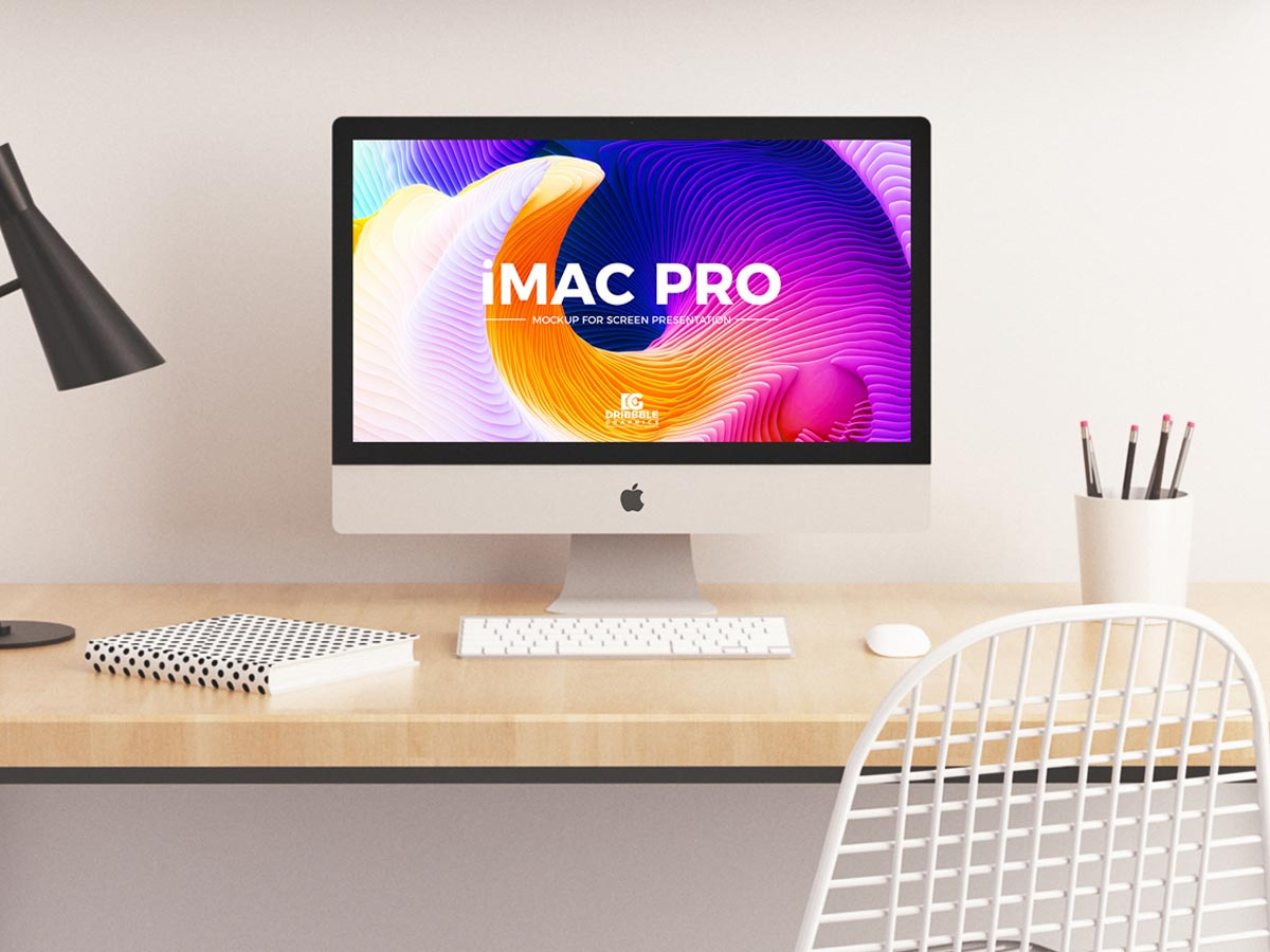 Today we bring for you a very stunning and fabulous Free iMac Pro Mockup PSD which is designed to showcase your website screen designs.
