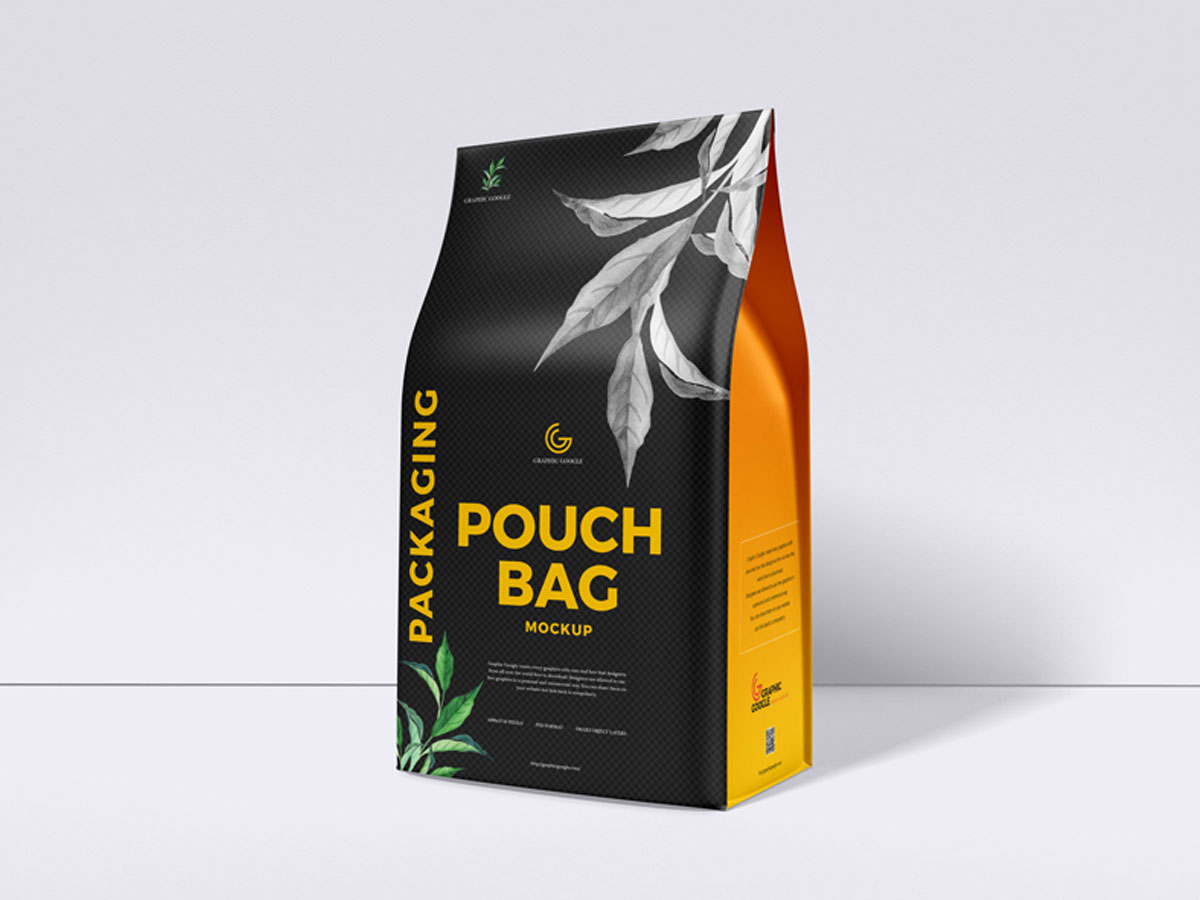 Download Free Packaging Pouch Bag Mockup